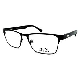 f409f3dab08ba Oculos Retangular Masculino Grau Oakley - Óculos Preto no Mercado ...