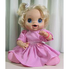 4 Vestidos 4 Calcinhas Para Boneca Baby Alive