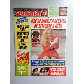 Revista Semanário 51 Angélica Elba Xuxa Paulo Ricardo 693