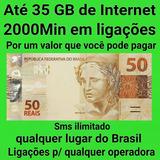 Convite Tim-beta 35 Gb + 2000 Minutos + Envio Imediato