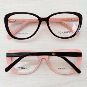Oculos De Grau Gatinho Chanel - Óculos no Mercado Livre Brasil dee695d78f