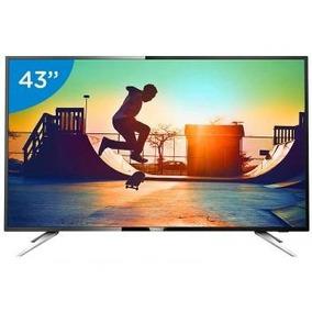 Smart Tv Led 43 Philips 4k/ultra Hd Conversor Digital Wi-fi