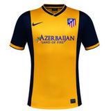 Camisa Atletico Madrid Amarela - Camisas de Times Espanhóis de ... 930ebd5e2603f