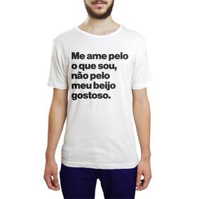 Banquinho Pelos Branco - Camisetas para Masculino no Mercado Livre ... 0cfcae35519