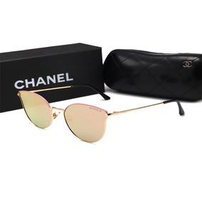 bc764ef6f1cec Óculos Chanel Prestige Gatinho - Óculos De Sol Com lente polarizada ...