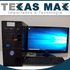 Computador Core I3+monitor 17 +teclado+mouse,hd 500