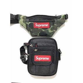 Kit Shoulder Bag Supreme + Pochete Supreme Frete Grátis
