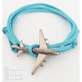 Brazalete Fly Azul&plateado - Remove Before Flight®