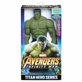 Brinquedo Boneco Hulk Original 30cm Hasbro Power Fx E0571