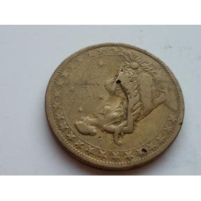 Df47= Moeda 1927 Defeito Inclinada 1000 Réis Abundancia