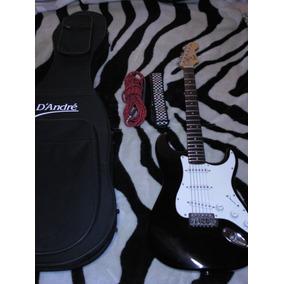 Guitarra Con Amplificador Fender