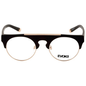 2b186fb8ac5e8 Evoke Upper Ii - Óculos De Grau A01 Black Matte Gold Lente 5