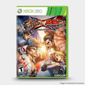 Street Fighter X Tekken - Original Para Xbox 360 - Novo