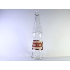 Garrafa Antartica Ginger Ale Antiga