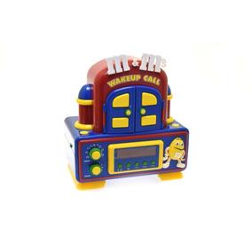 M&ms Radio Reloj Animado