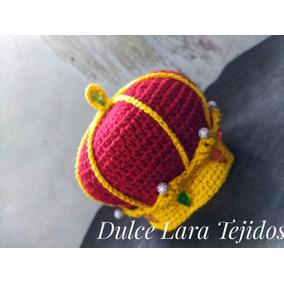 Gorro Corona A Crochet Estilo - Ropa y Accesorios en Mercado Libre ... 813becc2e26