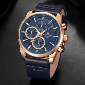 d388dd51e79 Relogio Pulseira Couro Original - Relógio Masculino no Mercado Livre ...