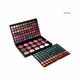 Maquillaje Sombra 183 Color +set 24 Brocha + Esponja Silicon