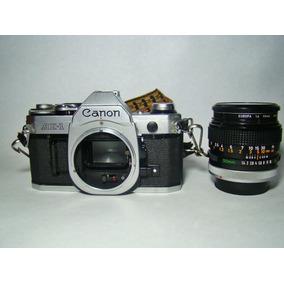 Camara Canon Ae1 Como Nueva Con Todos Sus Ascesorios