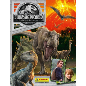 Lote 10 Figurinhas Avulsas Jurassic World Reino Ameaçado