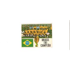 Card De 1970 Da Seleção Imortal Do Brasil Original