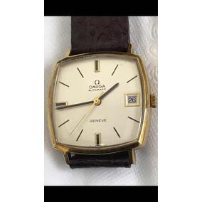 ebc96dfb2b0 Relogio Omega Geneve Automatico - Relógios Antigos e de Coleção no ...