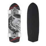 Skate Swingboard Simulador Surf Truck Giratório Pro Red Nose