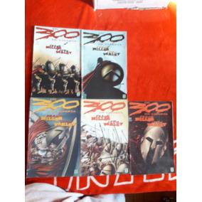 Os 300 De Esparta Mini-série Completa Em 5 Edições Ed. Abril