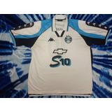 25bc34bae16f8 Camisa De Futebol Do Grêmio Kappa Banrisul 10 - Futebol no Mercado ...