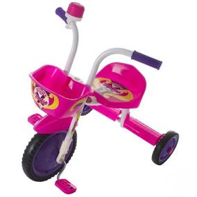 Triciclo 3 Rodas Bicicleta Infantil Ultra Bike Cor Rosa