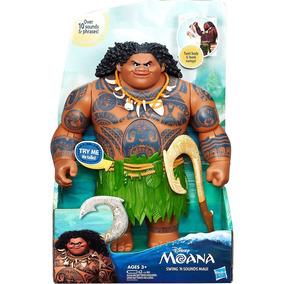 Boneco Maui Do Filme Moana Disney Com Som Hasbro