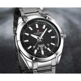 8f770a3806e Relogio Ana Hickmann Black Cromado Masculino - Relógios De Pulso no ...
