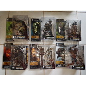 Coleção Action Figure Spawn Mcfarlane Monsters - 6 Pcs -