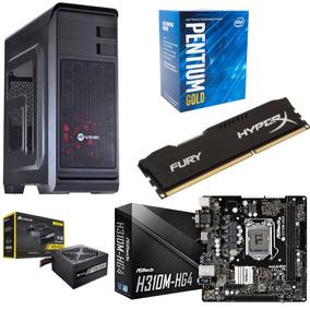 Kit Gb Hunter Pentium G5400 Asrock H310m Hg4 Hx 8gb Vs 400