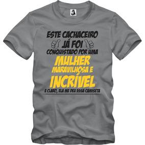 5d2fe4d5f Camiseta Cachaceiro - Camisetas Manga Curta no Mercado Livre Brasil
