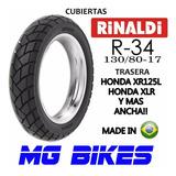 Cubierta Rinald 130 80 17 R34 Falcon Transalp Solo Mg Bikes