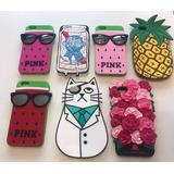 Funda Silicona 3d Victoria´s Secret Pink Iphone 6 Plus 5.5
