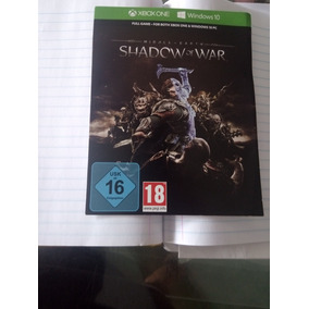Jogo Xbox One Shadow Of War (middle Earth)