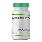 Metilfolato - Vitamina B9 - 1000mcg 60 Cápsulas