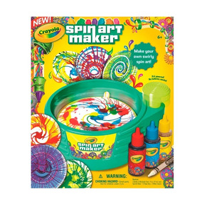 Kit Fábrica De Artes Crayola Spin Art Maker D