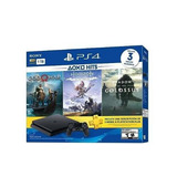 Oferta Consola Ps4 Slim 1tb Hits Bundle 4+3 Juegos + Susc.
