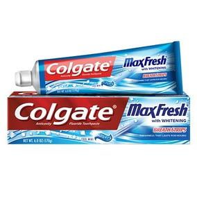 Crema Dental Colgate Max Fresh 170grs Mini Breath Strip 7v