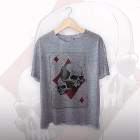 Camiseta Tattoo Baralho - Camisetas e Blusas no Mercado Livre Brasil 37d49874457