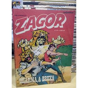 Zagor Nº 19 Dharma, A Bruxa Editora Rio Gráfica Ótimo Tex