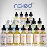 Pack 7 Liquidos Escencias Vaporizador Premiun Naked 420/60ml
