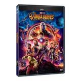 Dvd Vingadores - Guerra Infinita - Original ( Lacrado)