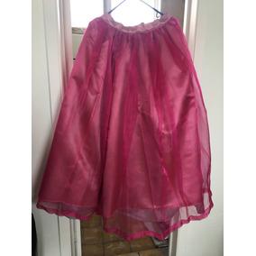 Falda De Princesa Larga Para Vestido Talla 5-7-9
