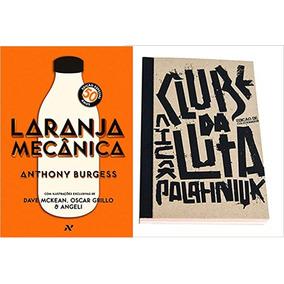 Laranja Mecânica + Livro Clube Da Luta - Colecionador