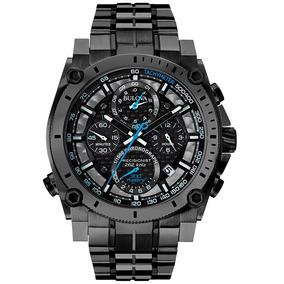 Nuevo!! Reloj Bulova Precisionist Cronógrafo Orignal 98b229