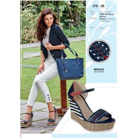 Zapatos Cklass 8days Piel Azul Marino 378-08 Primavera 2018